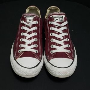 Converse All Star Canvas Low Top Purple M7 W9